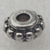 Beads, Fashion CCB plastic Jewelry findings, 4x8mm. Hole:3mm. Sold by Bag