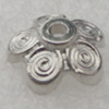 Beads Caps. Fashion CCB plastic Jewelry findings. 4x9mm. Hole:1mm. Sold by Bag