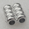 Beads. Fashion CCB Plaseic Jewelry findings. 12x14mm. Hole:4mm. Sold by Bag