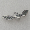 Pendant/Charm. Fashion CCB plastic Jewelry findings. 27x16mm. Sold by Bag