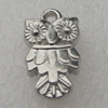 Pendant/Charm. Fashion CCB plastic Jewelry findings. Animal 19x11mm. Sold by Bag