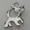Pendant/Charm. Fashion CCB plastic Jewelry findings. Animal 22x13mm. Sold by Bag