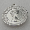 Pendant/Charm. Fashion CCB plastic Jewelry findings. 30mm. Sold by Bag