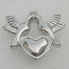 Pendant/Charm. Fashion CCB Plastic jewelry findings. Animal 20x20mm. Sold by Bag
