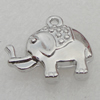 Pendant/Charm. Fashion CCB Plastic jewelry findings. Animal 23x22mm. Sold by Bag