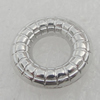 Dount. Fashion CCB Plastic jewelry findings. 11mm. Inner Dia:5mm. Sold by Bag