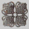 Iron Beads. Fashion Jewelry Findings. Lead-free. 35mm Sold by Bag