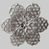 Iron Beads. Fashion Jewelry Findings. Lead-free. 45mm Sold by Bag
