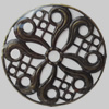 Iron Beads. Fashion Jewelry Findings. Lead-free. 65mm Sold by Bag
