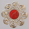 Iron Enamel Cabochons. Fashion jewelry findings. Lead-free. 53mm Sold by Bag