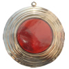 Iron Enamel Pendant. Fashion Jewelry findings. Lead-free. 70mm Sold by Bag