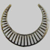 Iron Connector. Fashion jewelry findings. Lead-free. 55x60mm. Sold by Bag