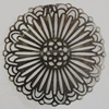 Iron Cabochons. Fashion Jewelry Findings. Lead-free. 60mm. Sold by Bag