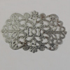 Iron Beads. Fashion Jewelry Findings. Lead-free. 50x32mm Sold by Bag
