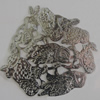 Iron Cabochons. Fashion Jewelry Findings. Lead-free. 60x55mm Sold by Bag
