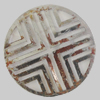 Iron Cabochons. Fashion Jewelry Findings. Lead-free. 25mm Sold by Bag