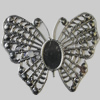 Iron Cabochons. Fashion Jewelry Findings. Lead-free. Animal 49x38mm Sold by Bag