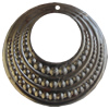 Iron Pendant. Fashion Jewelry Findings. Lead-free. 48mm Sold by Bag