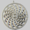 Iron Pendant. Fashion Jewelry Findings. Lead-free. 40mm Sold by Bag