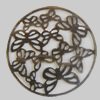Iron Cabochons. Fashion Jewelry Findings. Lead-free. 30mm Sold by Bag