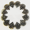 Iron Cabochons. Fashion Jewelry Findings. Lead-free. 51mm Sold by Bag