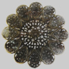 Iron Beads. Fashion Jewelry Findings. Lead-free. 51mm Sold by Bag