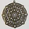 Iron Pendant. Fashion Jewelry Findings. Lead-free. 45mm Sold by Bag