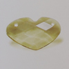 Transparent Acrylic Connector. Fashion Jewelry Findings. Heart 14x24mm Sold by Bag