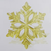Transparent Acrylic Connector. Fashion Jewelry Findings. Flower 125mm Sold by Bag