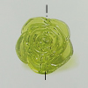 Transparent Acrylic Beads. Fashion Jewelry Findings. Flower 16mm Sold by Bag