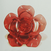 Transparent Acrylic Cabochons. Fashion Jewelry Findings. 49x48mm Slod by Bag