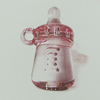 Transparent Acrylic Pendant. Fashion Jewelry Findings. 22x33mm Sold by Bag