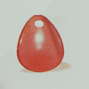 Transparent Acrylic Pendant. Fashion Jewelry Findings. Teardrop 15x19mm Sold by Bag