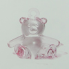 Transparent Acrylic Pendant. Fashion Jewelry Findings. Animal 35x40mm Sold by Bag
