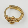 Copper Earrings, Fashion Jewelry Findings Lead-free, 11x7x11mm, Sold by Bag