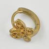 Copper Earrings, Fashion Jewelry Findings Lead-free, 11x9x11mm, Sold by Bag
