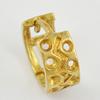Copper Earrings, Fashion Jewelry Findings Lead-free, 12x5x12mm, Sold by Bag