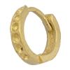 Copper Earrings, Fashion Jewelry Findings Lead-free, 9x2x9mm, Sold by Bag