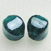 Hand-Made Lampwork Beads, cube 17x13mm Hole:About 2mm, Sold by PC