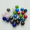 Hand-Made Lampwork Beads,Mixed color  sphere 14mm Hole:About 2mm, Sold by Group