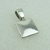 PendantBails,Fashion Zinc Alloy jewelry findings, 18x10mm. Sold by Bag