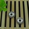 Spacerbeads,FashionZincAlloyjewelryfindings,17.5mm,Holesize:4mm.Soldbybag