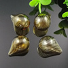 Lampwork Blown Vessels Beads,25x18mm, Sold by Bag