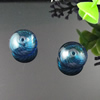 Lampwork Blown Vessels Beads,16x16x9mm, Sold by Bag