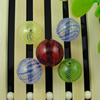 Lampwork Blown Vessels Beads,13mm, Sold by Bag