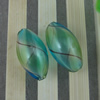 Lampwork Blown Vessels Beads,19x10mm, Sold by Bag