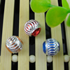 Aluminum Beads, Diamond-Cut,  Round, 10mm Sold by Bag