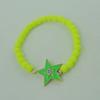 Fashion Bracelet, Acrylic beads & zinc alloy findings, Length:adjustable, Sold by Dozen