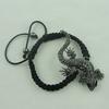 FashionBracelet,Cottoncord&zincalloyfindings,Length:adjustable,SoldbyDozen