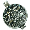 Hollow Bali Pendant. Fashion Zinc Alloy Jewelry Findings. Heart 46x36mm. Sold by PC